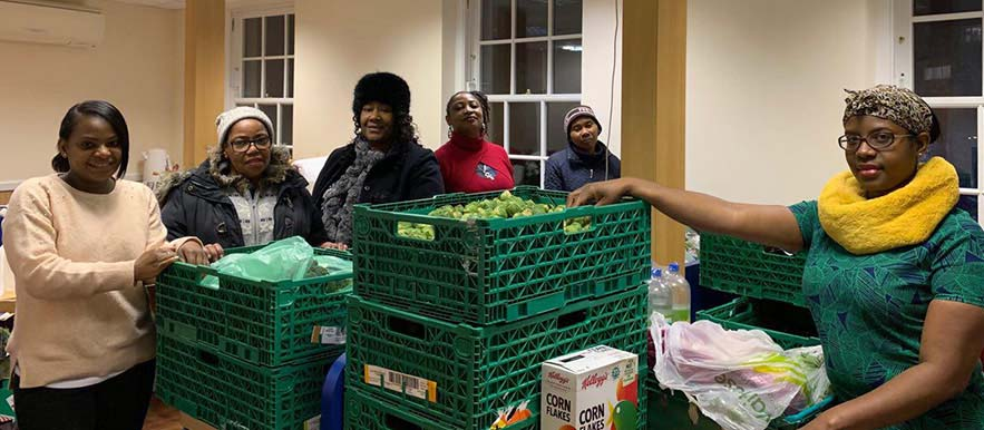Catford Soup Kitchen hosts its first Christmas Day lunch for homeless